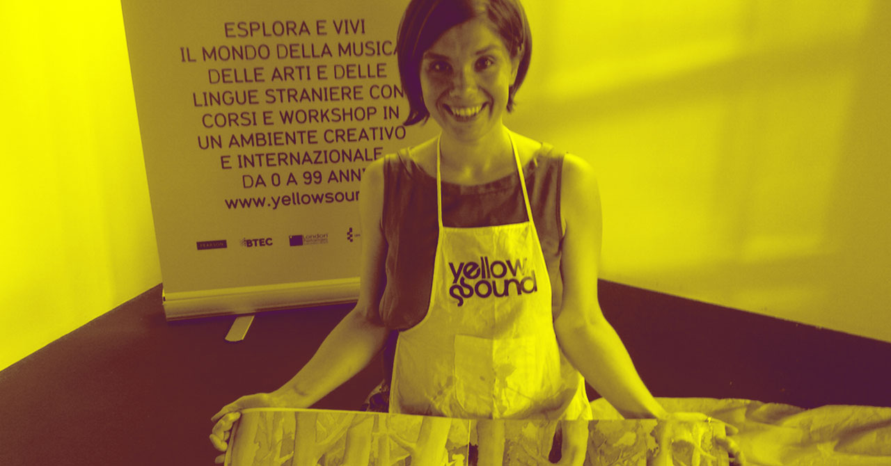 Alessia e la storia di Yellow Sound